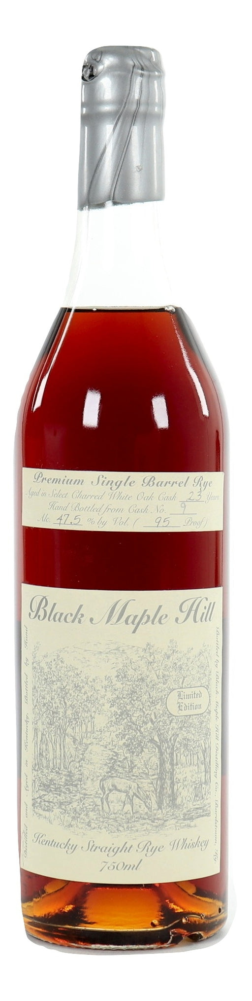Black Maple Hill 23 Year Old Single Barrel Rye - Cask 9 For Sale - NativeSpiritsOnline