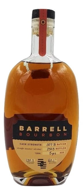 Barrell Bourbon Batch 007B For Sale - NativeSpiritsOnline