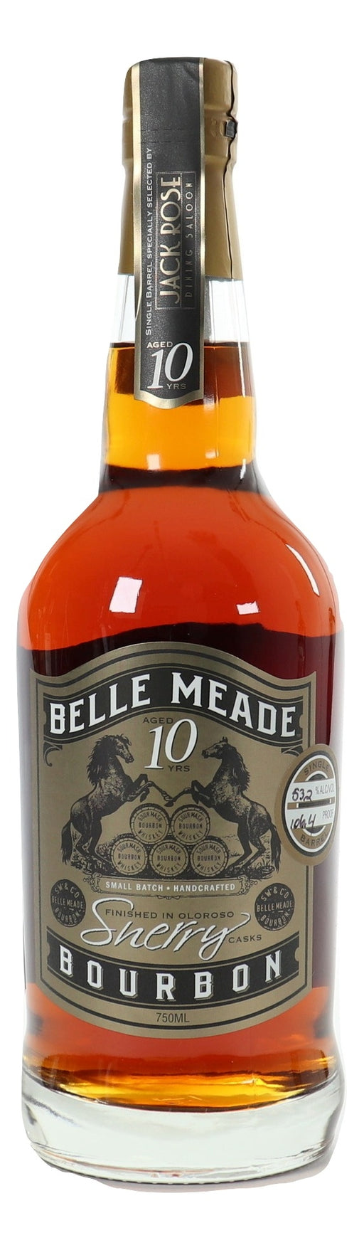 Belle Meade 10 Year Old  Sherry Finish Single Barrel For Sale - NativeSpiritsOnline