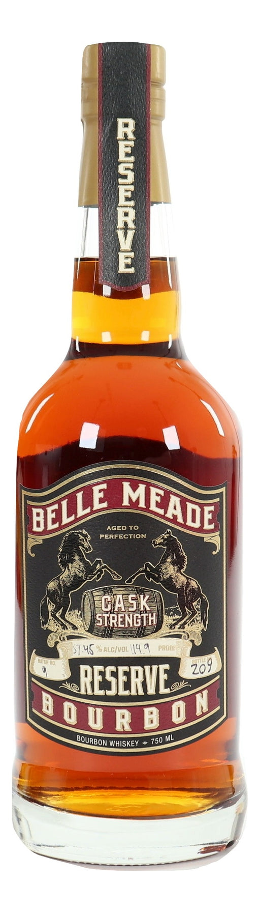 Belle Meade Cask Strength Reserve Bourbon Batch 9 - NativeSpiritsOnline