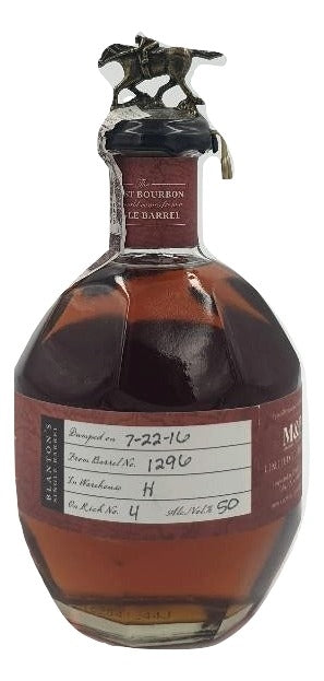 Blanton's Single Barrel Bourbon M&P Wine and Spirits Festival 2016 For Sale - NativeSpiritsOnline