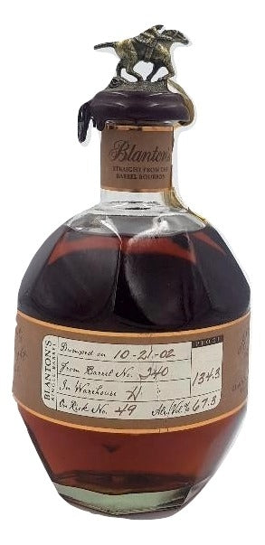 Blanton's Straight From The Barrel 2002 For Sale - NativeSpiritsOnline