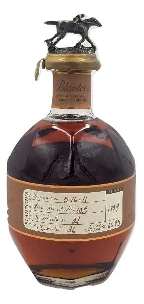 Blanton's Straight From The Barrel 2011 For Sale - NativeSpiritsOnline