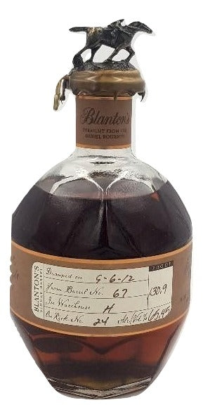 Blanton's Straight From The Barrel 2012 For Sale - NativeSpiritsOnline