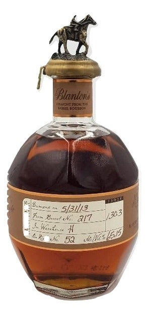 Blanton's Straight From The Barrel 2013 For Sale - NativeSpiritsOnline