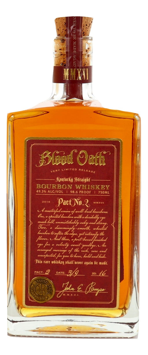 Blood Oath Pact No. 2 For Sale - NativeSpiritsOnline