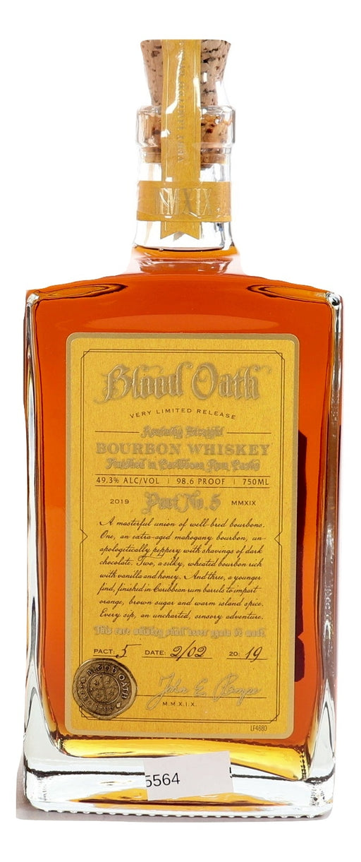 Blood Oath Pact No. 5