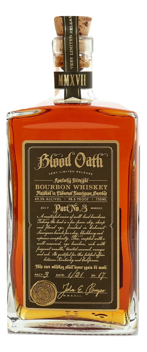Blood Oath Pact No. 3 For Sale - NativeSpiritsOnline