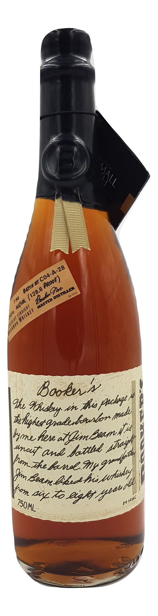 Booker's 7 Year Old Bourbon Batch C04-A-28 For Sale - NativeSpiritsOnline