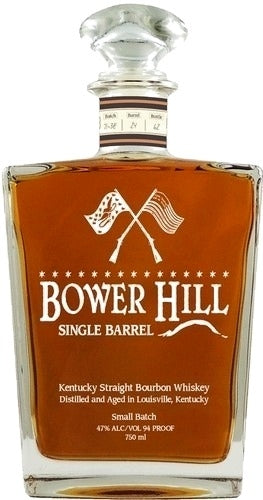 Bower Hill Single Barrel Bourbon For Sale - NativeSpiritsOnline