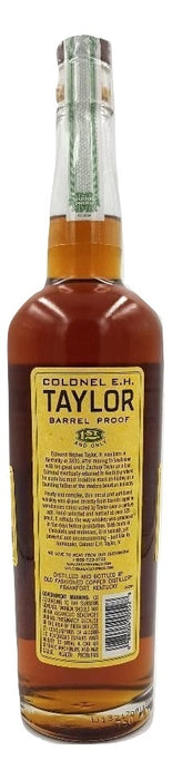 Colonel EH Taylor Barrel Proof 2013 For Sale - NativeSpiritsOnline