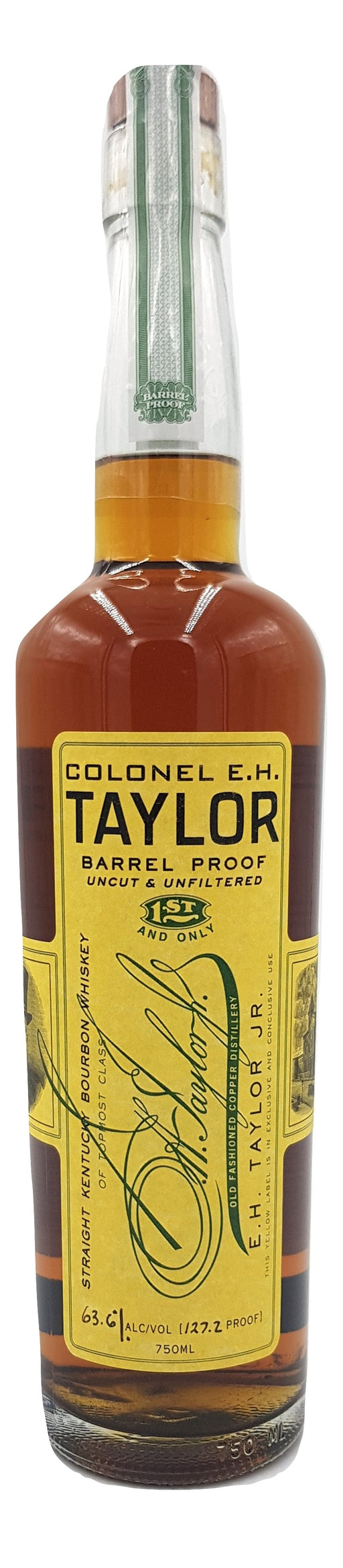 Colonel EH Taylor Barrel Proof 2015 For Sale - NativeSpiritsOnline