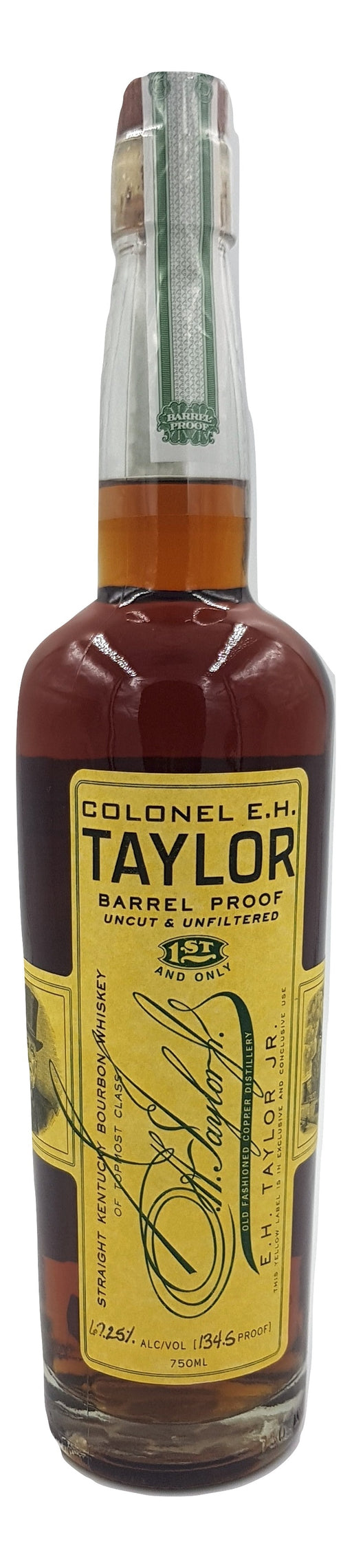 Colonel EH Taylor Barrel Proof 2012 - NativeSpiritsOnline