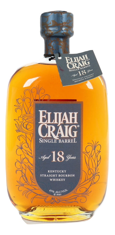 Elijah Craig 18 Year Old Single Barrel 2000 For Sale - NativeSpiritsOnline