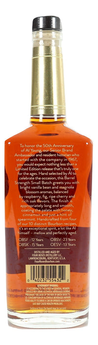 Four Roses Small Batch Limited Edition / Al Young 50th Anniversary For Sale - NativeSpiritsOnline