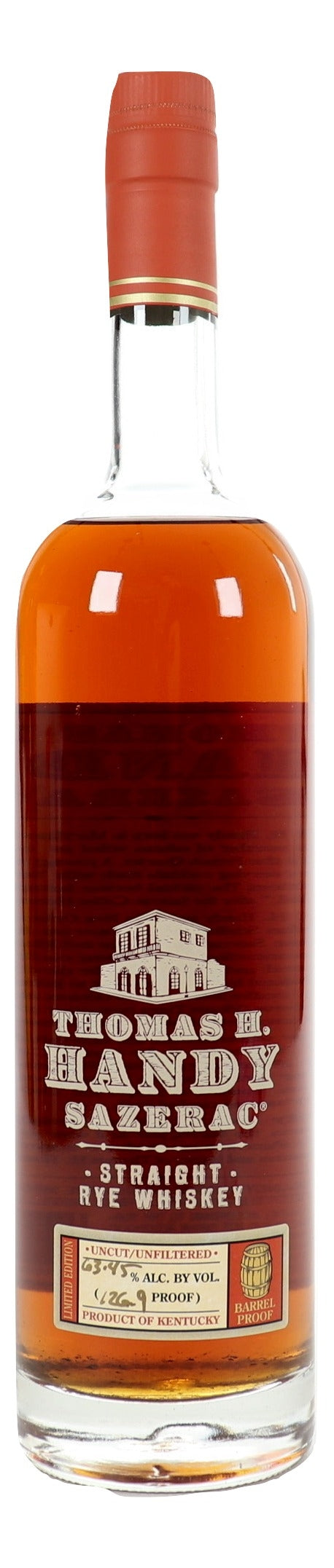 Thomas H. Handy Sazerac 2010 Straight Rye For Sale - NativeSpiritsOnline