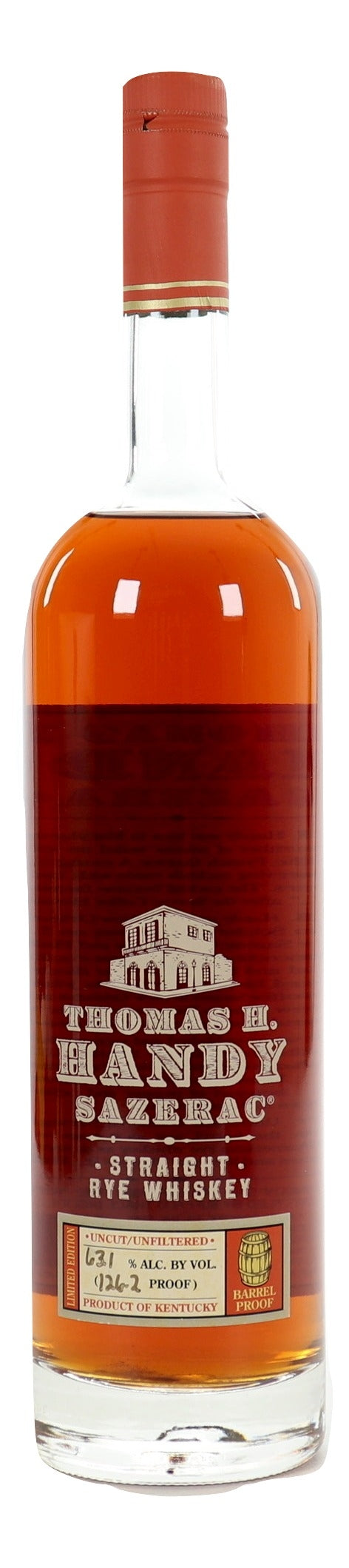 Thomas H. Handy Sazerac 2016 Straight Rye - NativeSpiritsOnline
