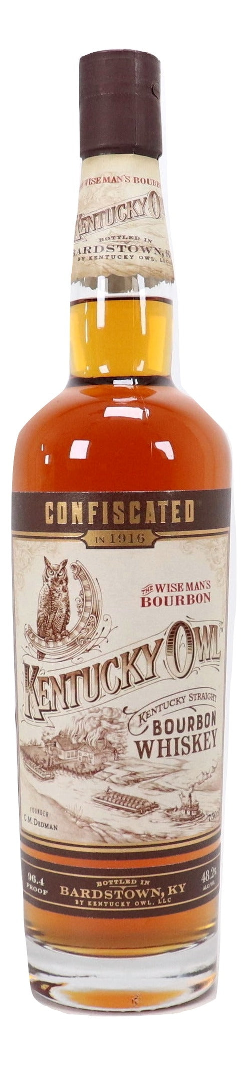Kentucky Owl Confiscated Straight Bourbon For Sale - NativeSpiritsOnline