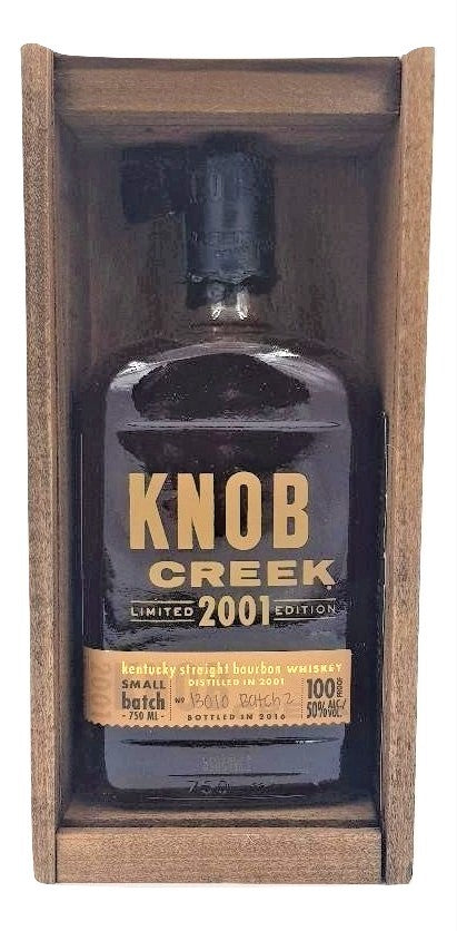 Knob Creek 2001 Limited Edition Batch 2 For Sale - NativeSpiritsOnline