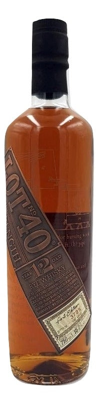 Lot No.40 12 Year Old Rye First Release - NativeSpiritsOnline