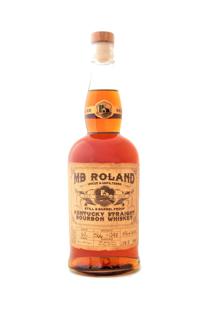 MB Roland Straight Bourbon Whiskey