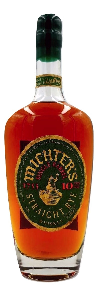 Michter's 10 Year Old Rye 2016 For Sale - NativeSpiritsOnline