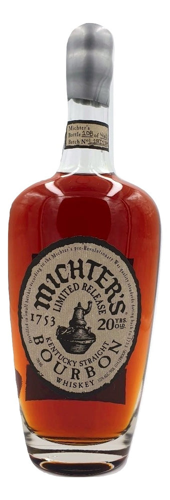 Michter's 20 Year Old Bourbon For Sale - NativeSpiritsOnline