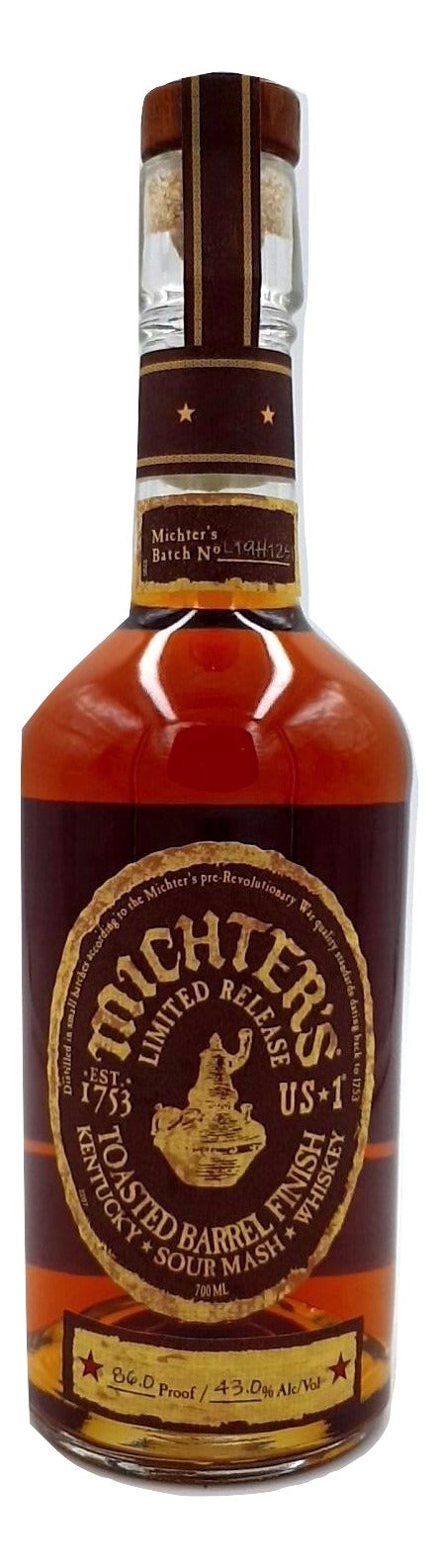 Michter's Toasted Barrel Sour Mash For Sale - NativeSpiritsOnline