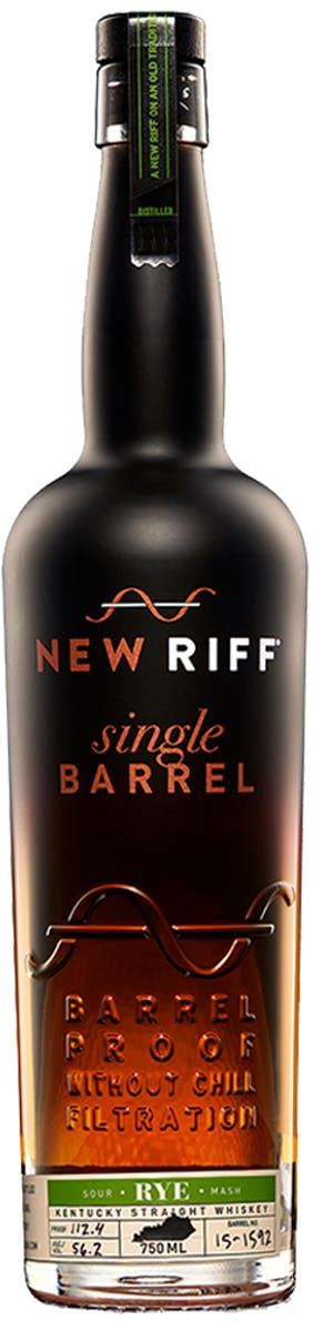 New Riff Single Barrel Kentucky Rye 101.2 Proof