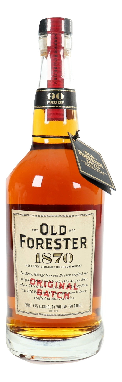 Old Forester 1870 Original Batch For Sale - NativeSpiritsOnline