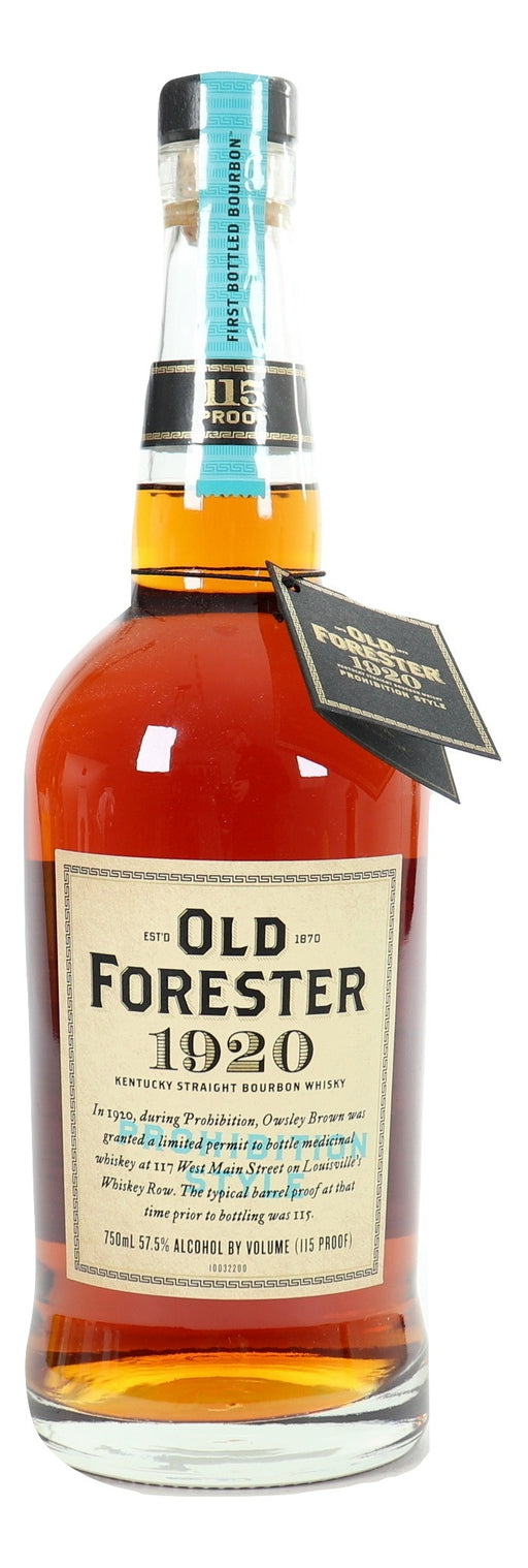 Old Forester 1920 Prohibition Style For Sale - NativeSpiritsOnline
