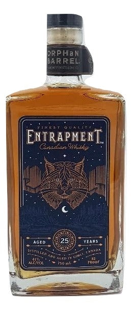 Entrapment 25 Year Old Canadian Whiskey For Sale - NativeSpiritsOnline
