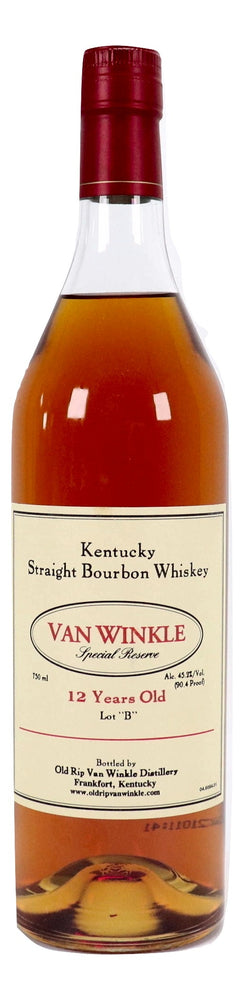 "Pappy Van Winkle 12 Year Old Special Reserve - Lot ""B"" - NativeSpiritsOnline"