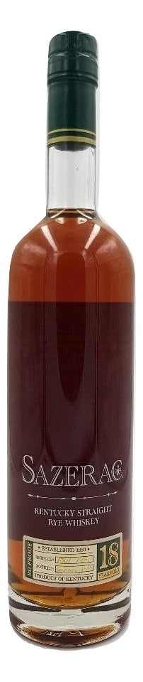 Sazerac 18 Year Old Rye 2000 For Sale - NativeSpiritsOnline