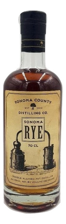Sonoma County Rye - NativeSpiritsOnline