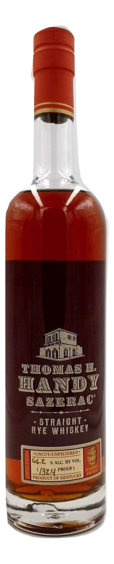 Thomas H. Handy Sazerac 2012 Straight Rye For Sale - NativeSpiritsOnline