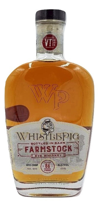 WhistlePig FarmStock Rye Crop No. 001 For Sale - NativeSpiritsOnline