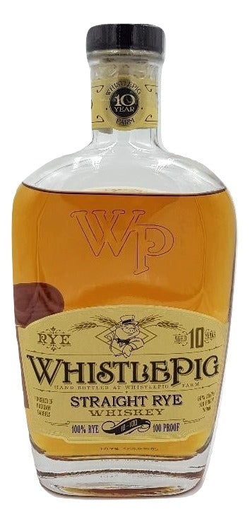 WhistlePig 10 year Rye Whiskey - NativeSpiritsOnline