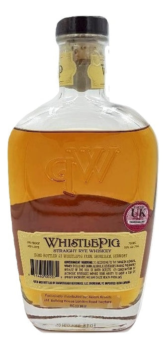 WhistlePig 10 year Rye Whiskey For Sale - NativeSpiritsOnline