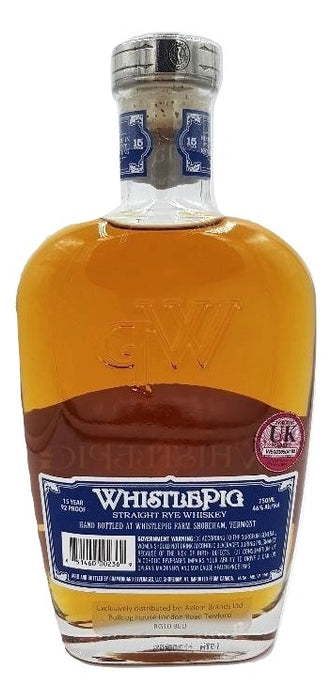 WhistlePig 15 Year Old Rye For Sale - NativeSpiritsOnline