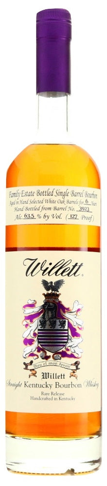 Willett 6 Year Old Family Estate Bourbon Barrel 3923