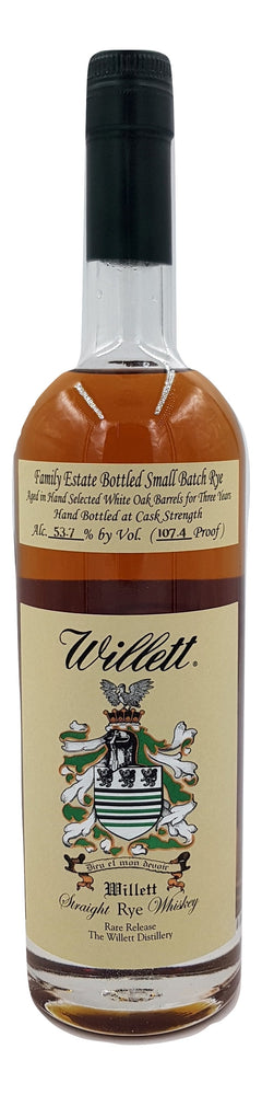 Willett 3 Year Old Family Estate Rye For Sale - NativeSpiritsOnline