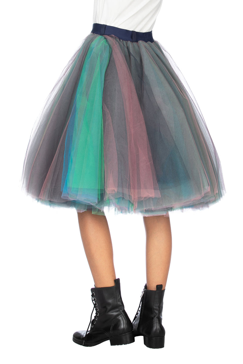 Gonna CINDYLO in tulle multicolor