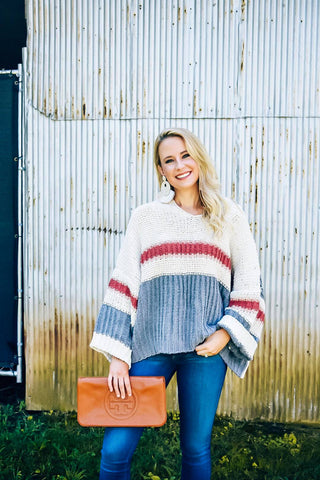 Snuggle Weather Chenille Sweater