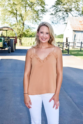 Apple Cider Tank in Camel