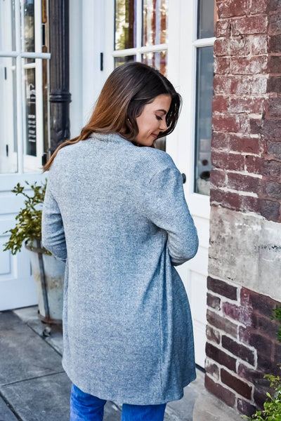 My Sweetest Obsession Cardigan in Grey