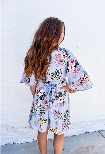 Let's Getaway Floral Dress