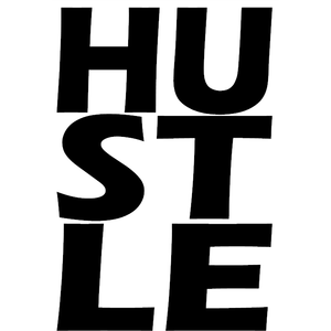 Hustle Decal Style 2 - Stick N Peel Graphics