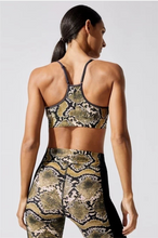 Load image into Gallery viewer, Snake Print Sports Bra