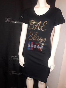 Bae Slay T-Shirt Dress